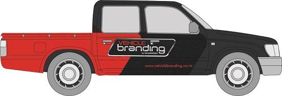 Vehicle branding full wrap example - ute-01